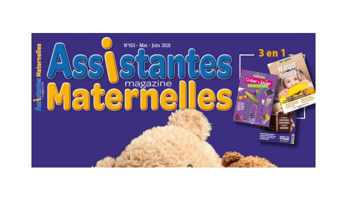 BA2i à l'honneur dans le N°183 du magazine Assistantes Maternelles !